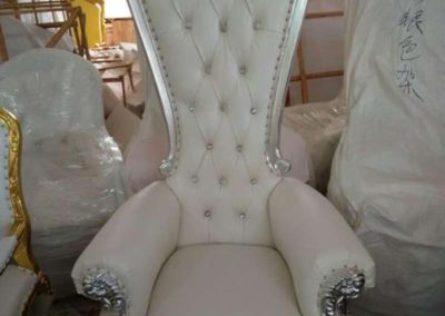 white throne 750.00 each